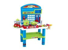 """28"""" Deluxe Kitchen Play Set With Light Sound & Appliances For Kids New"""