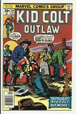 Kid Colt Outlaw #214 - VF/NM 9.0 - Renegades back-up story - Tom Sutton art