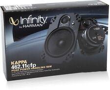 """Infinity Kappa 462.11cfp 4"""" x 6"""" 2-Way Kappa Series Coaxial Car Plate Speakers"""