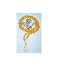 Natural Carnelian Handmade Mala Beads Necklace - Energized Karma Nirvana Meditat