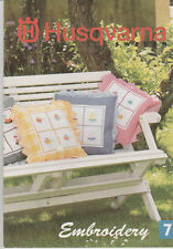 Husqvarna EMBROIDERY DISC 7 HOBBIES Sewing for Designer 1 & PC.