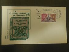 Spain First Day Cover International Conference of Tailors 1970