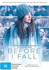 Before I Fall (DVD, 2017) NEW