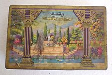 Indian Vintage old Malabar Glory Soap  Advertising Tin box. collectible rare