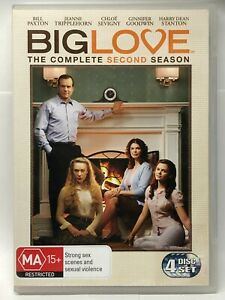 Big Love - Complete Second Season - 4 DVD Set - AusPost with Tracking