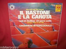 CANZONIERE INTERNAZIONALE Il bastone e la carota LP ITALY 1971 MINT- Zodiaco