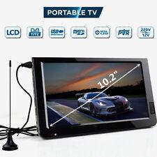 10.2'' 12V Portable DVB-T2 Receiver HD TV Digital Analog Television for Car Auto
