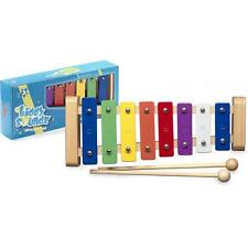 Stagg METAK Musical Instrument for 8 Key Metallophone with Colour Coded Keys New
