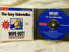 McAfee Easy Uninstaller **Easily Remove Unwanted Software** (Windows 95) PC VG
