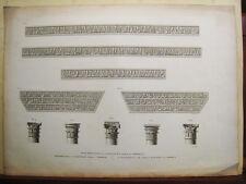 Cordoba.Mezquita.Grabado original.A. Laborde 1806-20