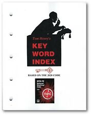 Tom Henry's Key Word Index based on the 2020 Nec Code, Paperback (Softbound)