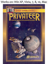 Wing Commander Privateer + Righteous Fire PC Mac Game