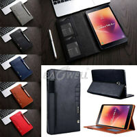 """For Samsung Galaxy Tab S3 A 8"""" 9.7"""" 10.1"""" Tablet Wallet Smart Leather Cover Case"""