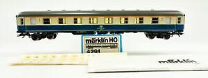 MARKLIN HO SCALE 4291 DB 1ST CLASS PASSENGER CAR #212-2  -B
