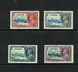 Ascension Island: 1935, King George V Silver Jubilee, LHM set
