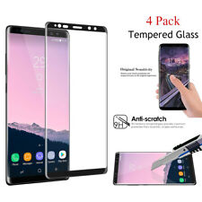 4 Pack Samsung Galaxy Note 8 Screen Protector Tempered Glass 3D Curved Glass