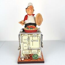 """The Master Chef by Guillermo Forchino Caricature Figurine Miniature 14.5""""H New"""