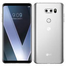 "LG V30+ Plus H930DS Dual Sim Silver 128GB 6"" 16MP Octa Core IP68 Phone By FedEx"