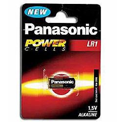 Panasonic 1.5V LR1 N type MN9100 E90 AM5 KN Battery
