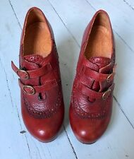 Chie Mihara Shoes in Dark Red