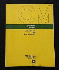 1975 John Deere 2040 2240 2440 2640 Tractor 146 Farm Loader Operators Manual