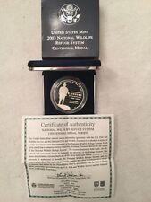 2003 National Wildlife Refuge System Proof Silver Medal US Mint COM377