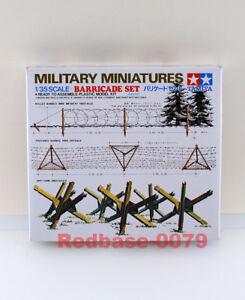 Tamiya Model 35027 1/35 WWII Military Minatures Barricade Set