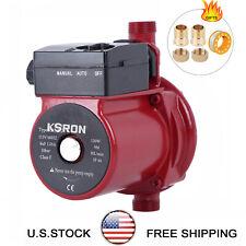 Npt 34 Automatic Booster Pump 110 120v Hot Water Recirculating Pumprs15 9r