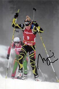 Marie Dorin Habert - FRA - Olympia 2018 - Biathlon - GOLD - Foto sig. (2)