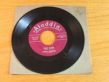 """BLUES 45 RPM - AMOS MILBURN - ALADDIN 3370 - """"DEAR ANGEL"""" + """"GREYHOUND"""""""