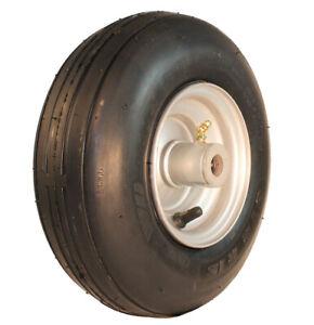 New 11x4.00-5 Rib Tire & Hustler Raptor Zero Turn Mower Rim Wheel 605113 Kit-H2