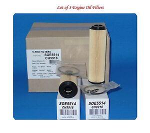 3 ENGINE OIL FILTER MADE IN KOREA SOE5514 FITS: MERCEDES BENZ C230 C250 SLK250
