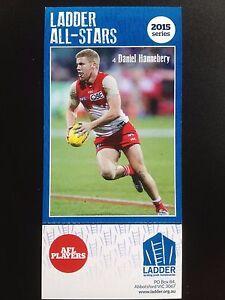 2015 Ladder AFL All Star Card Daniel Hannabery Sydney Swans