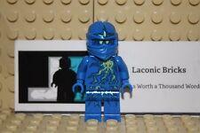 Lego Minifigure Ninjago NRG JAY NINJA MINIFIG - Blue 9570