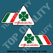ALFA ROMEO AUTODELTA FOUR LEAF CLOVER DECAL STICKER CAR MOTORSPORT STICKERS