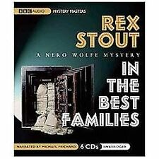 In the Best Families  (A Nero Wolfe Mystery) Stout, Rex Audio CD