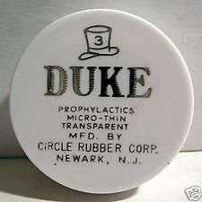 Duke Rd Old Full Condom Pack Circle Rubber Newark NJ