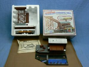 HO Scale Life-Like Operating Logging Mill New
