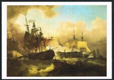 Postcard. Art/Painting. Battle of Camperdown. Loutherbourg. Tate Gallery. Unused