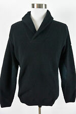Ralph Lauren RLX Polo Sport L Large 100% Wool Knit Mock Mens Sweater #274