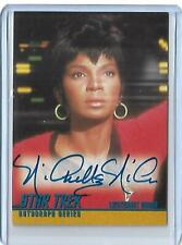 Star Trek TOS 1 Autograph Card A3 Nichelle Nichols As Uhura SCARE 800 SIGNED