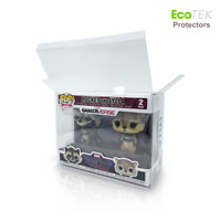 Lot 1 4 30 40 Collectible 2-Pack UV/Scratch Resistant Funko Pop Protector Case
