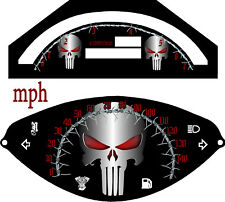 Yamaha Road Star Warrior XV 1700  Speedo & Tach Punisher  2002-2009  KM/H  & MPH