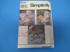 Vintage Sewing Pattern Simplicity One Size 8400 A. Schewe Baby Accessories S666