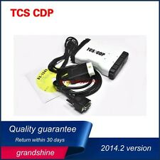 2014.02 TCS CDP PRO+ Auto Diagnostic Scan Tool OBD2  For Cars & Trucks White