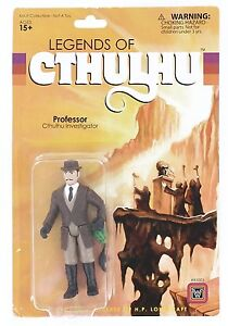 Legends of Cthulhu Retro Action Figure - Professor Cthulhu Investigator