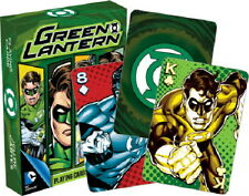 DC Comics Green Lantern Comic Art Illustrated Playing Cards 52 Images NEW SEALED