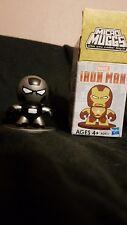 Hasbro Mini Vinyl Iron Man 3 Micro Muggs Series 1 Black & Silver Armor