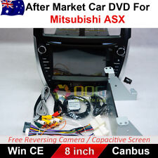 "8"" CAR DVD GPS Player Head Unit Stereo Navi For Mitsubishi ASX 2010-2017"