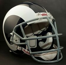 DAVID DEACON JONES LOS ANGELES RAMS Schutt NJOP-SW Football Helmet FACEMASK GRAY